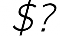 Logico-Sans Simple Modern Font 2 Font OTHER CHARS