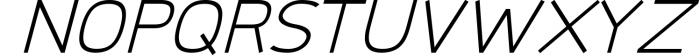 Logico-Sans Simple Modern Font 2 Font UPPERCASE