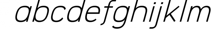 Logico-Sans Simple Modern Font 2 Font LOWERCASE