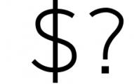 Logico-Sans Simple Modern Font 3 Font OTHER CHARS