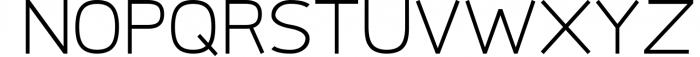 Logico-Sans Simple Modern Font 3 Font UPPERCASE