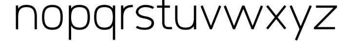Logico-Sans Simple Modern Font 3 Font LOWERCASE