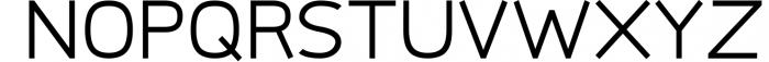 Logico-Sans Simple Modern Font 4 Font UPPERCASE