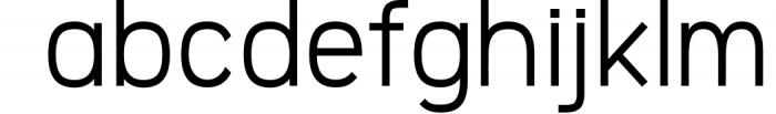 Logico-Sans Simple Modern Font 4 Font LOWERCASE