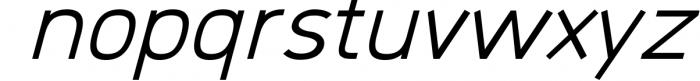 Logico-Sans Simple Modern Font 5 Font LOWERCASE