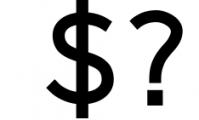 Logico-Sans Simple Modern Font Font OTHER CHARS