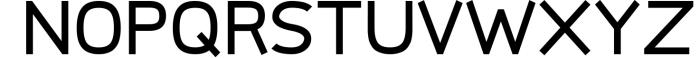 Logico-Sans Simple Modern Font Font UPPERCASE