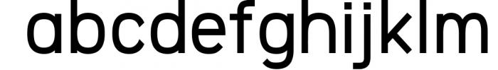 Logico-Sans Simple Modern Font Font LOWERCASE