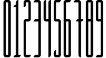 Longinus Typeface with two variations 1 Font OTHER CHARS