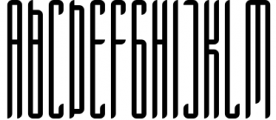 Longinus Typeface with two variations 1 Font UPPERCASE