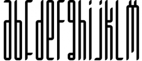 Longinus Typeface with two variations 1 Font LOWERCASE