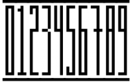 Longinus Typeface with two variations Font OTHER CHARS