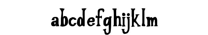 LOVE til KILLED Font LOWERCASE
