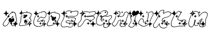 LOVELOVE_AhanIyanRamee Font UPPERCASE