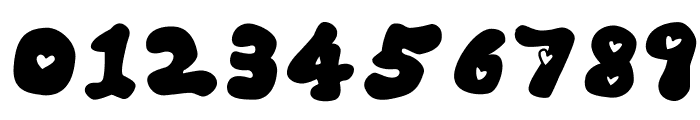 LOVELOVE_Ufun Font OTHER CHARS
