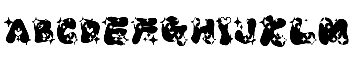 LOVELOVE_UfunRamee Font UPPERCASE