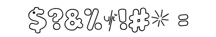 LoKinderSchrift Hell Font OTHER CHARS