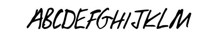 Lobbo Font UPPERCASE