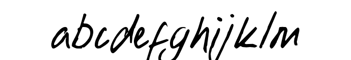 Lobbo Font LOWERCASE