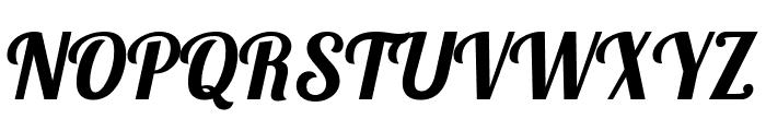 Lobster Regular Font UPPERCASE