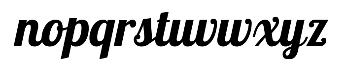 Lobster Two Bold Italic Font LOWERCASE