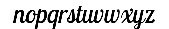 Lobster Two Italic Font LOWERCASE
