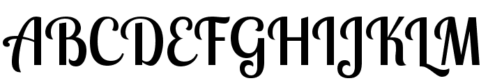 Lobster Two Font UPPERCASE