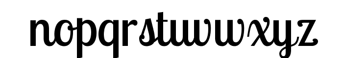 Lobster Two Font LOWERCASE