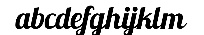 Lobster1.1 Font LOWERCASE