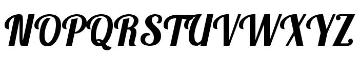Lobster1.3 Font UPPERCASE
