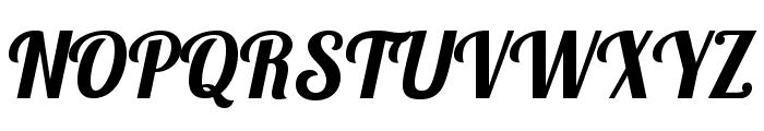 Lobster1.4 Font UPPERCASE