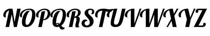 Lobster Font UPPERCASE