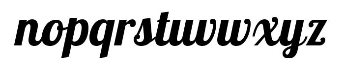 LobsterTwo-BoldItalic Font LOWERCASE