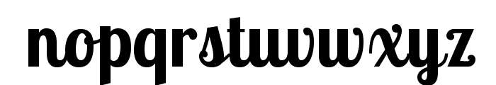 LobsterTwo-Bold Font LOWERCASE