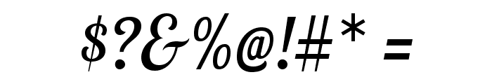LobsterTwo-Italic Font OTHER CHARS