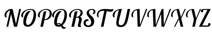 LobsterTwo-Italic Font UPPERCASE