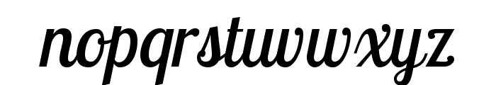LobsterTwo-Italic Font LOWERCASE