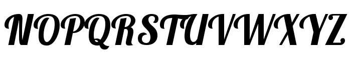 Lobsterbeta14 Font UPPERCASE