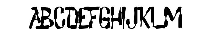 Lochen Font UPPERCASE