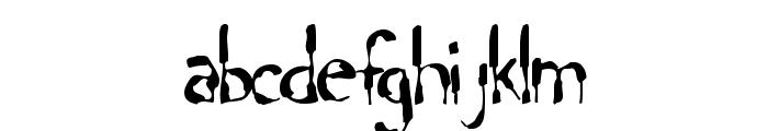 Lochen Font LOWERCASE