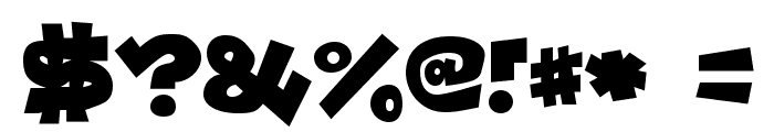 Lockergnome-Regular Font OTHER CHARS