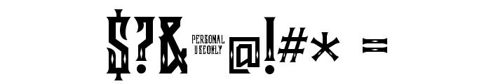 Lockon Velline Font OTHER CHARS