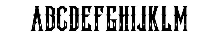 Lockon Velline Font UPPERCASE