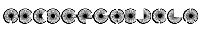 LogFont Font UPPERCASE