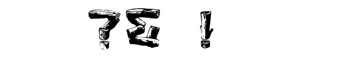 Logger Regular Font OTHER CHARS