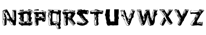 Logger Regular Font UPPERCASE