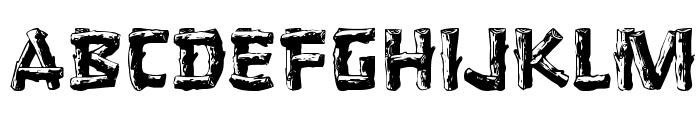 Logger Font UPPERCASE