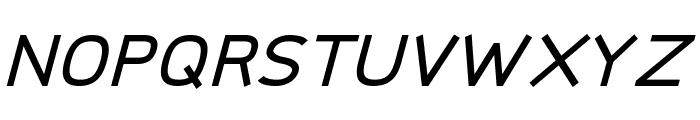 Logico Sans Bold Italic Font UPPERCASE