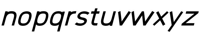 Logico Sans Bold Italic Font LOWERCASE