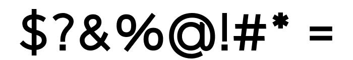 Logico Sans Bold Font OTHER CHARS